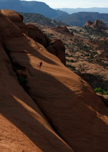Photo: Peder Sundström, Runner: Me, Location: Arches Nat. Park, Utah