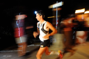 21 year old Kilian Jornet was the fastest again. Photo: UTMB®-Kilian Jornet©J-P Clatot