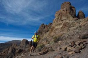 Pic taken a few weeks ago while running on 2000 m altitude, just below the Teide vulcano on Tenerife. Photo: Leia Adler