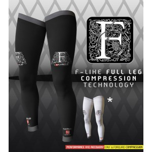 This full leg compression will enable you to run with shorts or skort all year.
