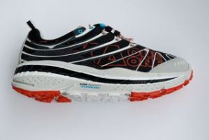 My advise: stay on groomed trails if you're planning to run with the Hoka One One Stinson.