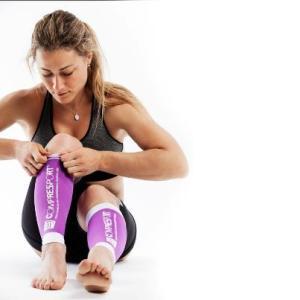 Ultra strong runner Fernanda Maciel from Brasil prefer running with calf sleeves from CompresSport.