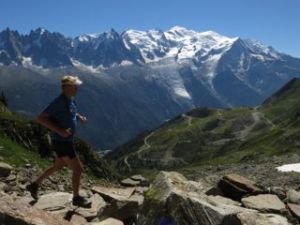 Wonderful alpine trails around Mont-Blanc. Perfect for fast packing trips and daily trail runs. Photo: Fredrik Ölmqvist