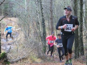 Deltagarna trivdes under Rambo Trail Run. Foto Fredrik Ölmqvist