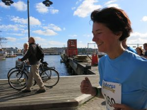 Elicits Synnöve Lysö tog sig runt på 1.04.
