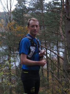 Erik Jurander, 41, från Göteborg, en hyfsat rutinerad doldis i ultra-trailsammanhang. Foto: Fredrik Ö