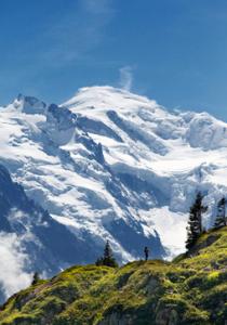 MontBlanc-massivet. Foto: Dan Kullberg