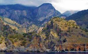 Lefka ori (Vita bergen), Kreta.